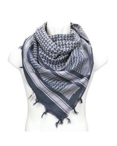 PLO Sjaal zwart wit