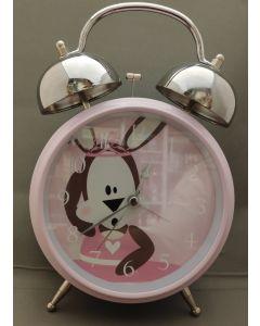 Kinderwekker Roze