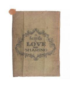 Shabby linnen Family Love