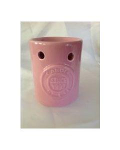 Wax bar houder roze