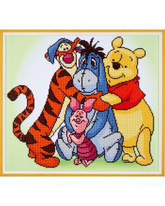 Winnie the Pooh Diamant Painting